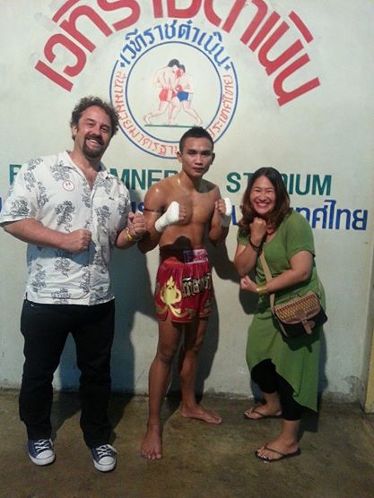 The winner of the main event. Thanks to Nuengruethai Ponakngern for the image!